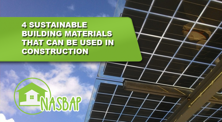 4 sustainable building materials that can be used in for Sustainable building resources